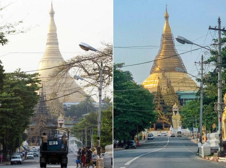 COMBO - MYANMAR - POLITICS - MILITARY - FESTIVAL